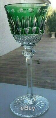 Lot 2 verres à vin du Rhin cristal estampillés ST LOUIS modèle TOMMY roemer