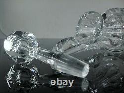 Magnifique Grand Carafe Cristal Taille Modèle Chambord St Louis Signe + Etiquet