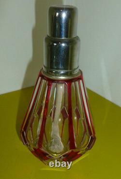 Magnifique Lampe Berger St Louis En Cristal Double