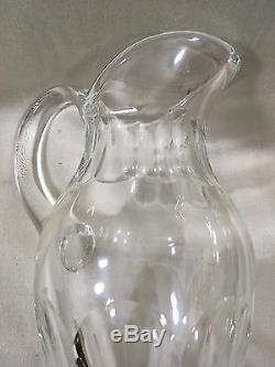PICHET EN CRISTAL SAINT LOUIS mod. BRISTOL broc carafe eau