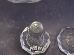 Paire De Carafe En Cristal Saint Louis Ou Baccarat