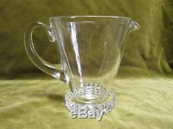 Pichet cristal de saint louis mod Diamants (crystal pitcher)
