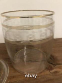 Pot Couvert Cristal Taillé Saint Louis Baccarat XIXeme Ancien