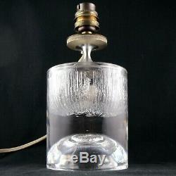 Rare LAMPE Design Cinétique CRISTAL DAUM FRANCE Crystal 20th/st louis/baccarat