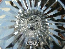 Rare service liqueur cristal Saint Louis TOMMY 12 verres 2 carafes tbe