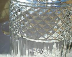 Rare vasque/seau à champagne modèle Tommy en cristal Saint-Louis