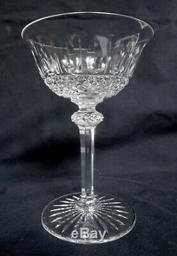SAINT LOUIS 6 coupes à champagne CRISTAL taillé modèle TOMMY SIGNEES