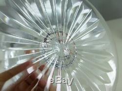 SAINT LOUIS 6 verres à eau TOMMY cristal 17 cm estampillés