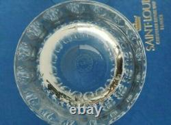 SAINT LOUIS France Paire de VERRES a WHISKY modele AVIGNON Cristal taille boite