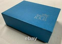 SAINT-LOUIS France Suite 6 VERRES a LIQUEUR Modele AVIGNON Cristal signe boite