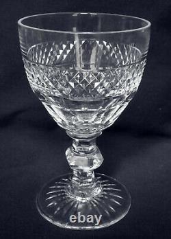 ST SAINT LOUIS 6 verres à eau en CRISTAL taillé modèle TRIANON 13,9cm
