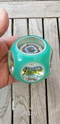 SULFURE CRISTAL OVERLAY ANCIENNE PAPERWEIGHT BACCARAT ST LOUIS FIN XIXeS PARF ET