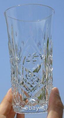 Saint Louis Baccarat Lot de 5 verres à orangeade en cristal taillé