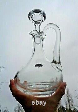 Saint Louis Bizet Wine Decanter Jug Carafe Aiguiere Pichet A Vin Cristal Uni
