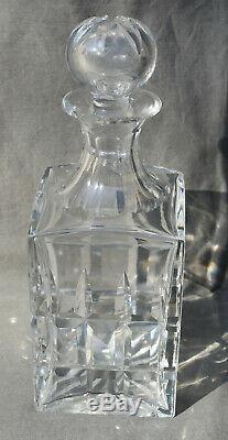 Saint Louis CARAFE à Whisky en cristal modèle Manhattan glass by SL