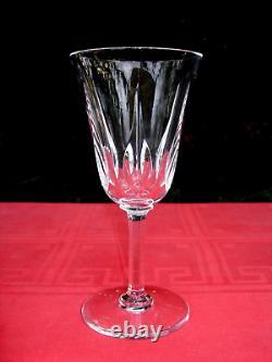 Saint Louis Cerdagne 6 Water Glasses Verres A Eau Vin 18 CM 18cm Cristal Taillé
