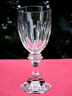 Saint Louis Chambord Wine Glasses Weingläser Verre A Vin 17cm CM Cristal Taillé