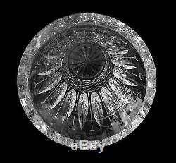 Saint Louis Grand Vase Modèle Tommy En Cristal Taillé Signé