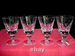 Saint Louis Jersey 4 Wassergläser 4 Verres A Eau Paquebot France Cristal Taillé