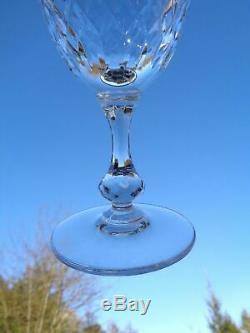 Saint Louis Messine Wine Glasses Verre A Vin 14cm 14 CM Cristal Taillé Massenet