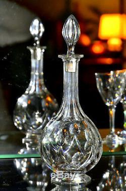 Saint-Louis. Partie de service de verres en cristal taillé, modèle Vic