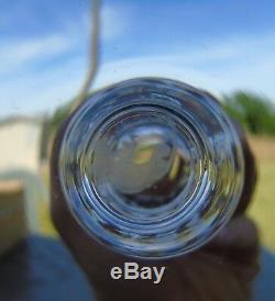 Saint Louis Service de 6 flûtes à champagne en cristal, modèle Jersey