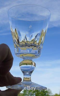 Saint Louis Service de 6 verres à eau en cristal, modèle Jersey