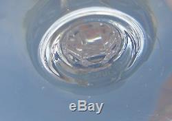 Saint Louis Service de 6 verres à eau en cristal taillé, modèle Chantilly