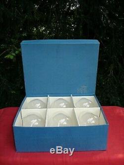 Saint Louis Tanareze 6 Brandy Cherry Glasses Glass Verres A Cognac Cristal Unis