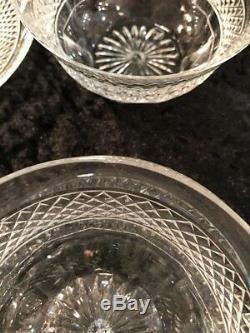 Saint Louis Tommy 4 Bol +4 Coupelles A Dessert Apéritif Cristal Taillé