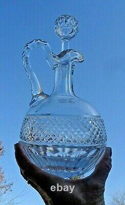 Saint Louis Trianon Wine Decanter Carafe Aiguiere Pichet A Vin Cristal Taillé A