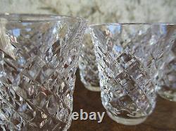 Saint Louis, ensemble service à liqueur en cristal, carafe et 8 verres