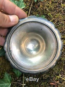Sceau a biscuit pot cristal xix ème à décors de chardons Baccarat ou St Louis