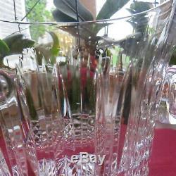 Seau a champagne en cristal de saint louis modèle tommy