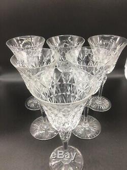 Serie De 6 Verres A Eau En Cristal De St Louis Modele Rare
