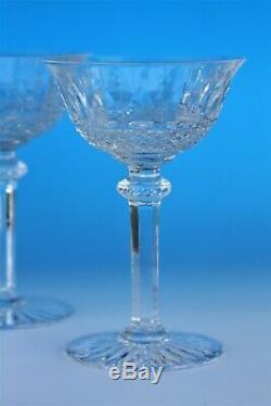 Série de 6 coupes à champagne en cristal de St Louis modèle Tommy