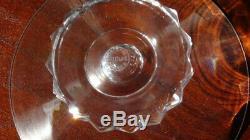 Service 34 verres en cristal Saint Louis, modèle Diamant, estampillés