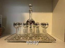 Service A Liqueur Cristal 1900 St Louis