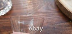 Service A Liqueur Cristal St Louis Modele Diamant 5 Verres + 1 Carafe
