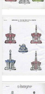 Service À Liqueur Ou Porto Cristal Saint Louis Catalogue 1930 A4