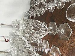 Service de verres en cristal de Saint Louis Model Joseph / Vaisselle /