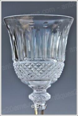 Set de 4 verres à vin de Bordeaux n°4 en cristal de St Louis modèle Tommy 15 cm