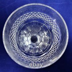 Suite de 5 verres à vin cristal de Saint Louis Trianon Réf A23/8 wine glasses