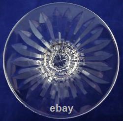 Suite de 6 verres cristal Saint LOUIS Tommy 14 cm réfA19/3