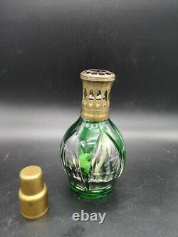 Superbe Lampe Berger Saint Louis Cristal Old