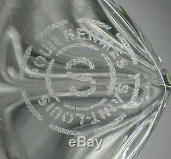Tete De Cheval En Cristal Saint- Louis Pour Hermes