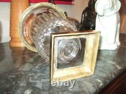 Très Beau Vase Médicis en Cristal et Bronze 29.5 cm, Modèle Versailles St Louis