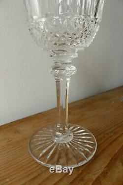 Trois verres à vin de Bordeaux, cristal Saint Louis TOMMY hauteur 15cm