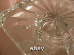 Vase Médicis en cristal de Saint-Louis signé H 20 cm modèle Versailles
