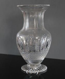Vase cristal de Saint louis modèle Tommy signé